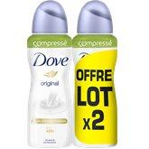Dove Déodorant Dove spray compressé Original - 2x100ml