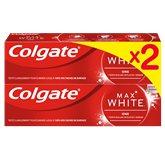 Colgate Dentifrice blancheur Colgate Max White One - 2x75ml