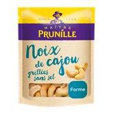 Maître Prunille Noix de cajou Maître Prunille Sans sel, grillé, sachet 200g