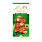 Lindt Tablette chocolat au lait Lindt Praliné noisettes - 225g