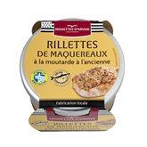 Les Mouettes d'Arvor Rillettes maquereaux moutarde Les Mouettes d'Arvor - 125g