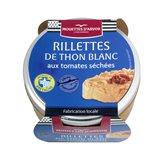 Les Mouettes d'Arvor Rillette thon blanc tom.séchées Les Mouettes d'Arvor - 125g