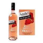 Festalie Boisson à base de vin rosé Festalie Fraise - 75cl