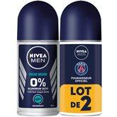 Nivea Déodorant Nivea Fresh active Bille - 2x50ml