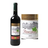 Terrasses d'Autan AOC Bergerac Vin rouge Bio Terrasses d'Autan - 75cl