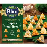 Blini Coffret Mini feuilletés Blini Sapin - x32