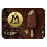 Magnum Bâtonnets glace Magnum Chocolat cookie x4 - 292g