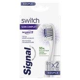 Signal Brosse à dents Signal Switch têtes Intégral 8 x2 - 1P