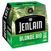 Jenlain Bière blonde bio Jenlain Non filtrée  - 6x25cl