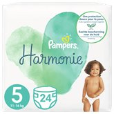 Pampers Changes Bébé Harmonie Pampers T5 - x24