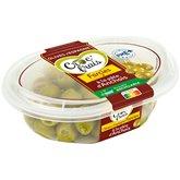 Croc' frais Olives farcies Croc'frais A la pâte d'anchois - 200g