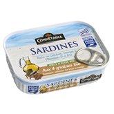 Connetable Sardines  Connétable Huile d'olive et 4 graines 135g