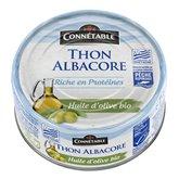 Connetable Thon albacore Bio Connetable Huile d'olive - MSC - 160g