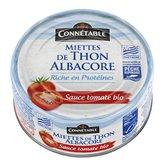 Connetable Miettes thon Bio Connetable Sauce tomate - MSC - 112g