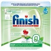Finish Tablettes lave-vaisselle Finish Tout en 1 0% x40 - 734g